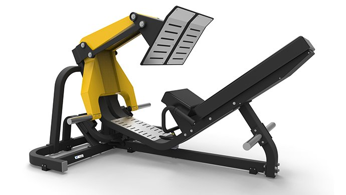 TZ-6066 45 Degre Leg Press